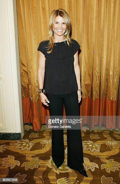 Actress Lori Loughlin attends the Saks Fifth Avenue presents Oscar De La Renta Fall 2008 Collection at the Annual Colleagues Luncheon honoring Angie...