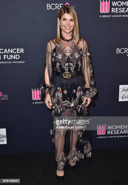 Actress Lori Loughlin attends Women's Cancer Research Fund's An Unforgettable Evening Benefit Gala at the Beverly Wilshire Four Seasons Hotel on...