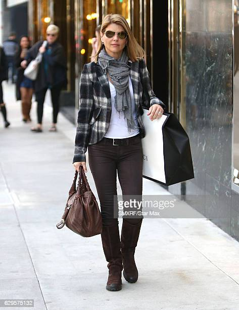 Actress Lori Loughlin is seen on December 13 2016 in Los Angeles California