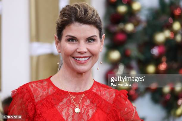 Actress Lori Loughlin visits Hallmark's Home Family at Universal Studios Hollywood on December 06 2018 in Universal City California