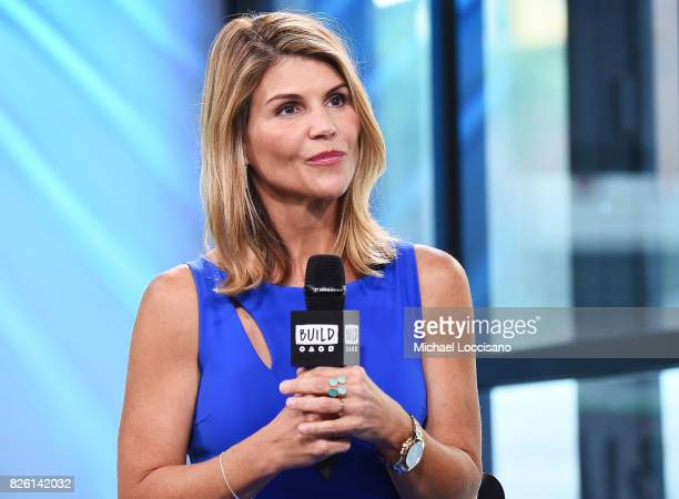 Actress Lori Loughlin visits the Build Series to discuss the show Fuller House at Build Studio on August 3 2017 in New York City