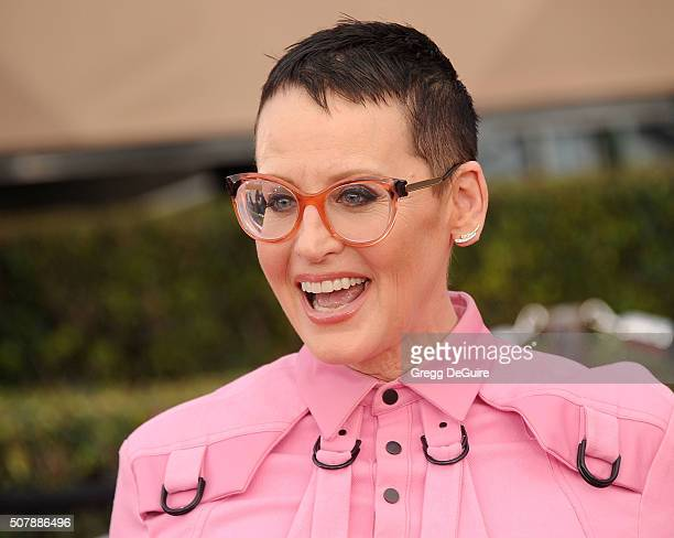 Actress Lori Petty arrives at the 22nd Annual Screen Actors Guild Awards at The Shrine Auditorium on January 30 2016 in Los Angeles California