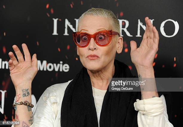 Actress Lori Petty arrives at the screening of Sony Pictures Releasing's Inferno at DGA Theater on October 25 2016 in Los Angeles California