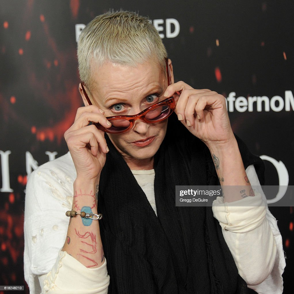Actress Lori Petty arrives at the screening of Sony Pictures Releasing's 'Inferno' at DGA Theater on October 25, 2016 in Los Angeles, California.