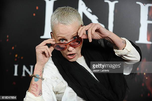 Actress Lori Petty attends a screening of Inferno at DGA Theater on October 25 2016 in Los Angeles California