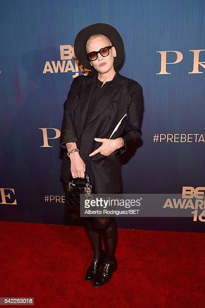 Actress Lori Petty attends Debra Lee's PRE kicking off the 2016 BET Awards on June 22 2016 in Los Angeles California