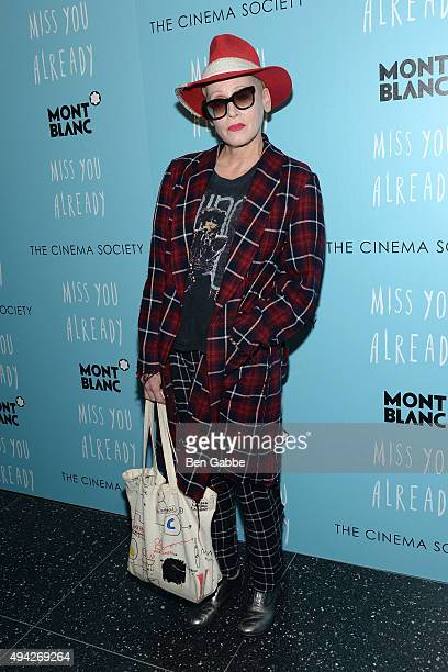 Actress Lori Petty attends Montblanc The Cinema Society screening of Roadside Attractions Lionsgate's Miss You Already at Museum of Modern Art on...