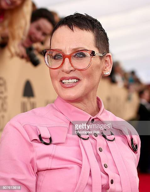 Actress Lori Petty attends The 22nd Annual Screen Actors Guild Awards at The Shrine Auditorium on January 30 2016 in Los Angeles California 25650_018