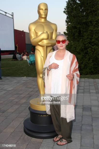 Actress Lori Petty attends the Academy of Motion Picture Arts and Sciences' Oscars Outdoors summer screening series with Point Break held at Oscars...