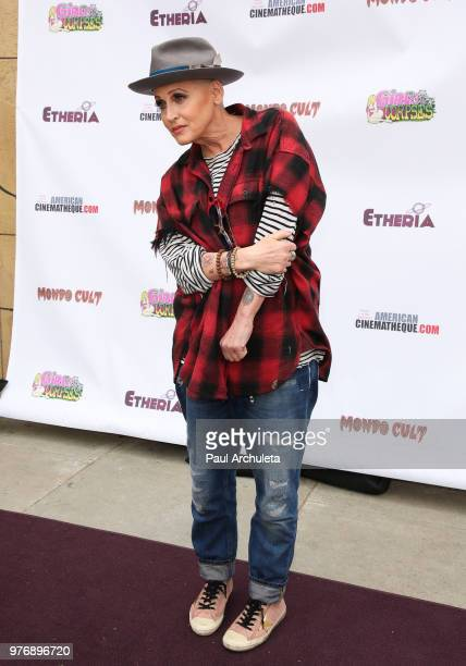 Actress Lori Petty attends the Etheria Film Night at the Egyptian Theatre on June 16 2018 in Hollywood California