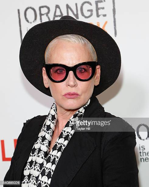 Actress Lori Petty attends the premiere of Orange is the New Black at SVA Theater on June 16 2016 in New York City