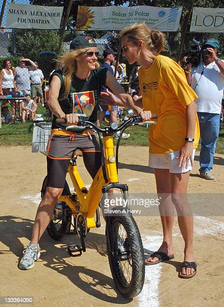 Actress Lori Singer attends the 61st Annual Artist vs Writers Charity softball game at Herrick Park on August 15 2009 in East Hampton New York