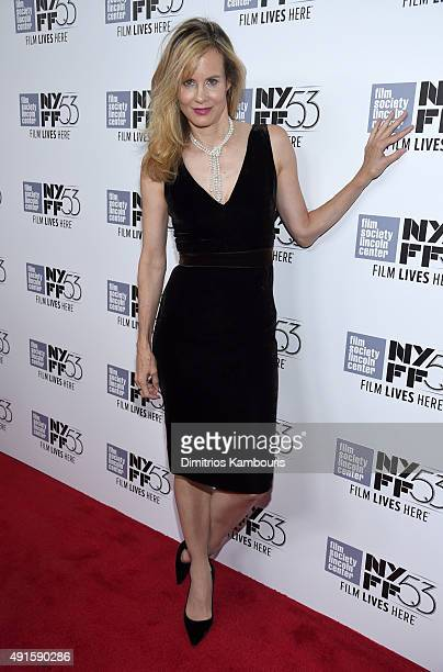 Actress Lori Singer attends the premiere of Experimenter during the 53rd New York Film Festival at Alice Tully Hall Lincoln Center on October 6 2015...