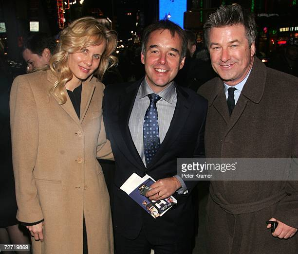 Actress Lori Singer director Chris Columbus and actor Alec Baldwin attend the Tisch School of the arts annual gala benefit at the St James Theatre...
