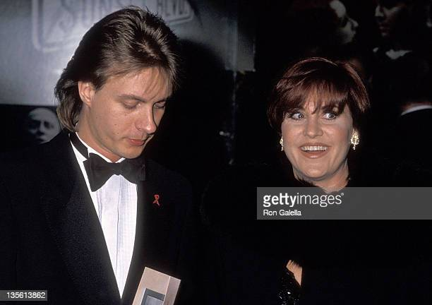 Actress Lorna Luft and date Colin Freeman attend the Sunset Boulevard Broadway Musical Opening Night Performance on November 17 1994 at the Minskoff...