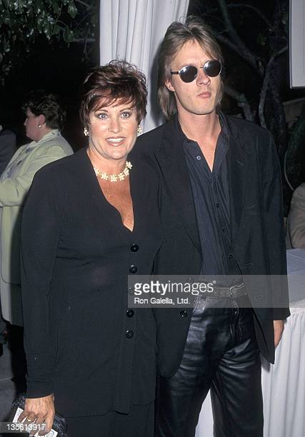 Actress Lorna Luft and husband Colin Freeman attend the 49th Annual Primetime Emmy Awards Nominees Cocktail Reception on September 10 1997 at the...
