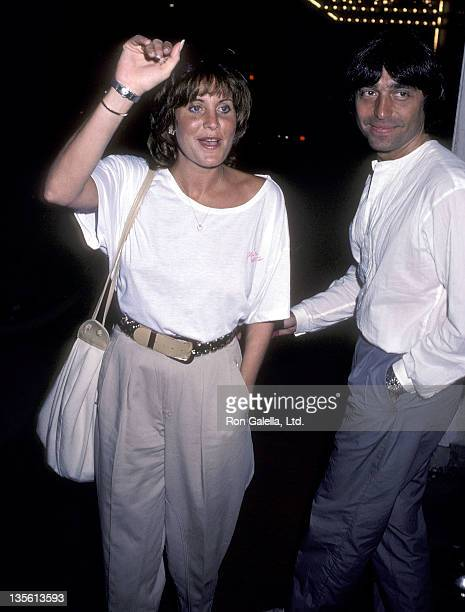 Actress Lorna Luft and husband Jake Hooker attend the 'Amadeus' Westwood Premiere on September 6 1984 at the UA Coronet Theatre in Westwood California