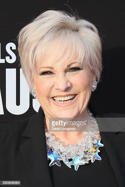 Actress Lorna Luft arrives at the 3rd Biennial Rebels with a Cause Fundraiser on May 11 2016 in Santa Monica California