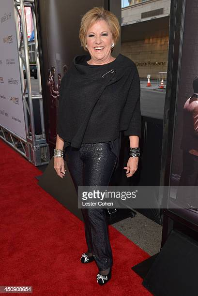 Actress Lorna Luft attends the premiere of Warner Bros Pictures' Jersey Boys during the 2014 Los Angeles Film Festival at Regal Cinemas LA Live on...