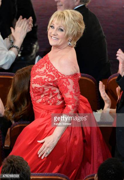 Actress Lorna Luft in the audience during the Oscars at the Dolby Theatre on March 2 2014 in Hollywood California