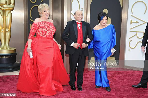 Actress Lorna Luft Joseph Luft and singer Liza Minnelli attend the Oscars held at Hollywood Highland Center on March 2 2014 in Hollywood California