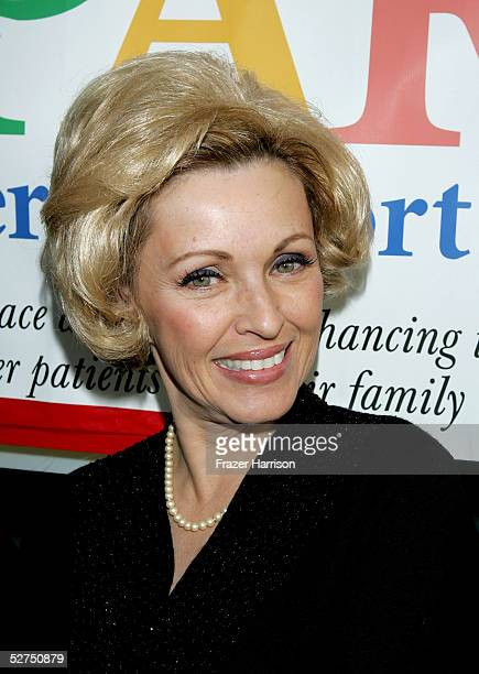 Actress Lorna Patterson arrives at the WeSPARKLE Variety Hour to benefit weSPARK Cancer Support Center held at The Henry Fonda Music Box Theatre on...