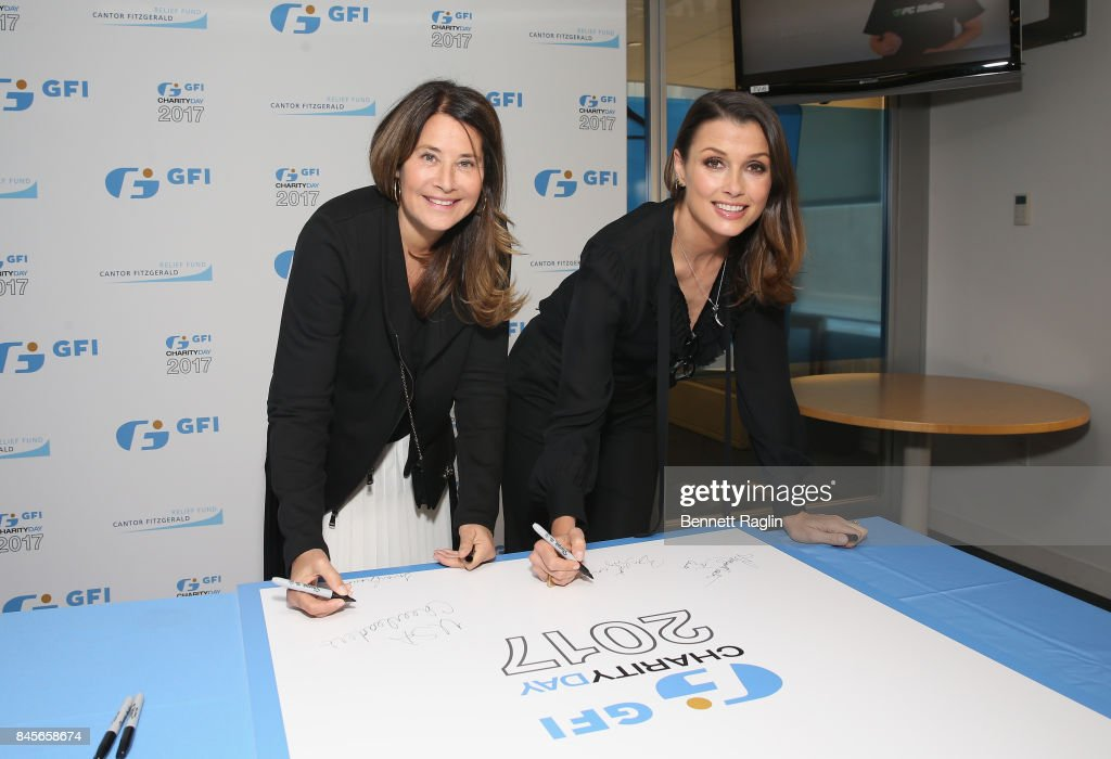 Annual Charity Day Hosted By Cantor Fitzgerald, BGC and GFI - GFI Office - Arrivals : News Photo