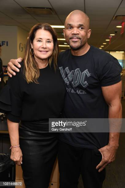 Actress Lorraine Bracco and Darryl McDaniels attend Annual Charity Day hosted by Cantor Fitzgerald BGC and GFI at GFI Securities on September 11 2018...