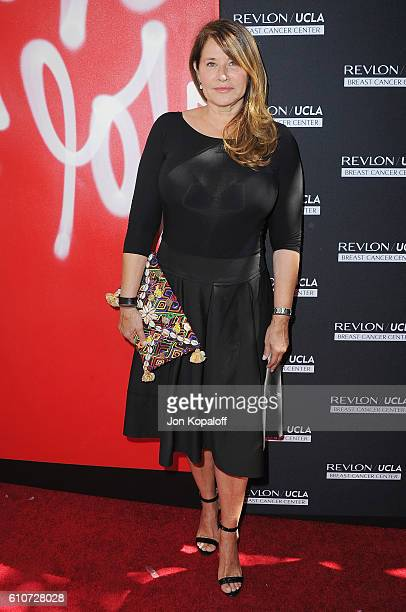Actress Lorraine Bracco arrives at Revlon's Annual Philanthropic Luncheon at Chateau Marmont on September 27 2016 in Los Angeles California