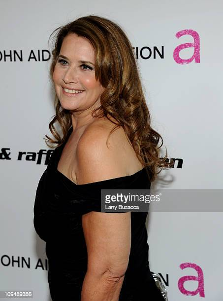 Actress Lorraine Bracco arrives at the 19th Annual Elton John AIDS Foundation Academy Awards Viewing Party at the Pacific Design Center on February...