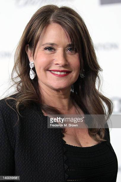 Actress Lorraine Bracco arrives at the 20th Annual Elton John AIDS Foundation's Oscar Viewing Party held at West Hollywood Park on February 26 2012...