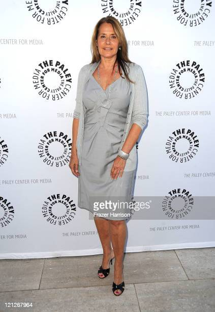 Actress Lorraine Bracco arrives at The Paley Center For Media's Reception For Debbie Reynolds The Exhibit on August 16 2011 in Beverly Hills...