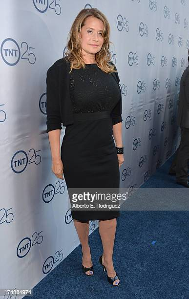 Actress Lorraine Bracco arrives to TNT's 25th Anniversary Party at The Beverly Hilton Hotel on July 24 2013 in Beverly Hills California