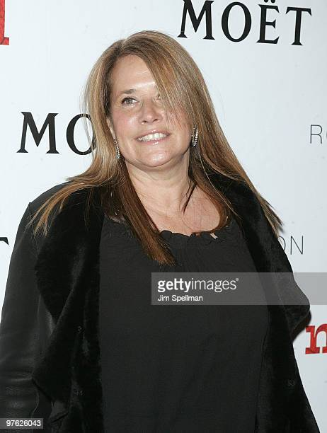 Actress Lorraine Bracco attends a VIP performance of Next Fall on Broadway at the Helen Hayes Theatre on March 10 2010 in New York City