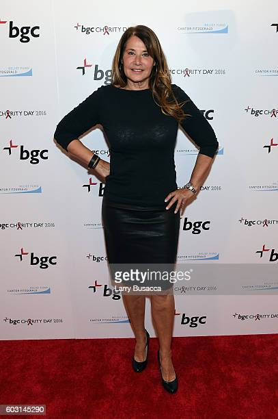 Actress Lorraine Bracco attends Annual Charity Day hosted by Cantor Fitzgerald BGC and GFI at BGC Partners INC on September 12 2016 in New York City