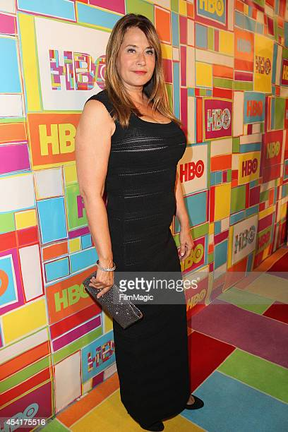 Actress Lorraine Bracco attends HBO's Official 2014 Emmy After Party at The Plaza at the Pacific Design Center on August 25 2014 in Los Angeles...
