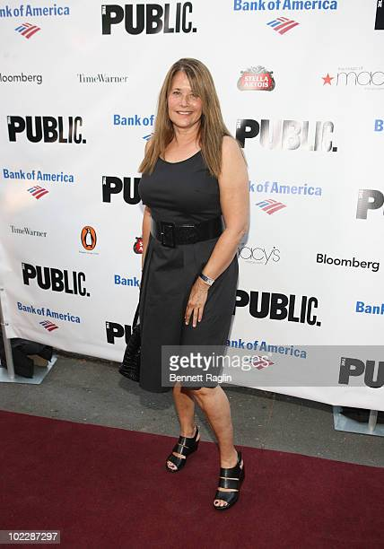 Actress Lorraine Bracco attends the 2010 Public Theater Gala at the Delacorte Theater on June 21 2010 in New York City
