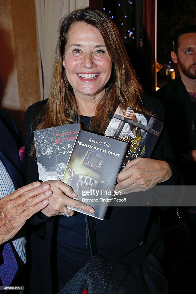 Actress Lorraine Bracco attends the 37th Writers Cocktail, organized by Circle Maxim's Business Club in Fairs Fouquet's, on November 27, 2014 in Paris, France.
