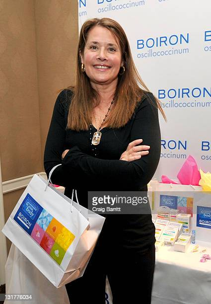 Actress Lorraine Bracco attends the HBO Luxury Lounge in honor of the 68th Annual Golden Globe Awards at The Four Seasons Hotel on January 15 2011 in...