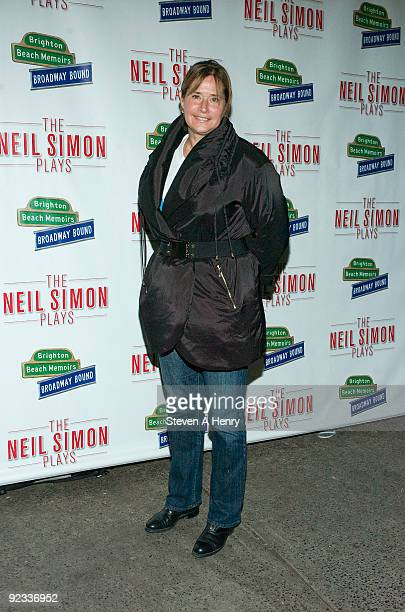 Actress Lorraine Bracco attends the opening night of Brighton Beach Memoirs on Broadway at the Nederlander Theatre on October 25 2009 in New York City