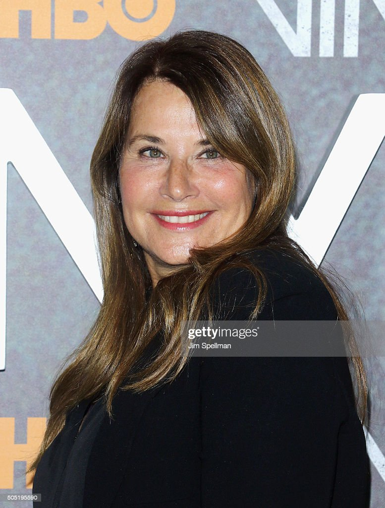 Actress Lorraine Bracco attends the 'Vinyl' New York premiere at Ziegfeld Theatre on January 15, 2016 in New York City.