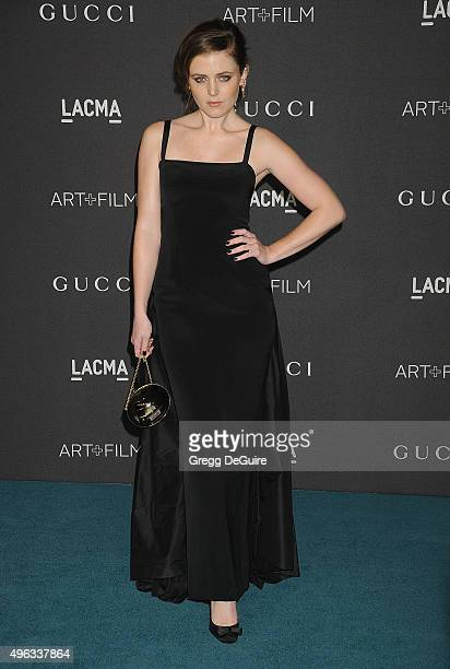 Actress Lorraine Nicholson arrives at the LACMA 2015 ArtFilm Gala Honoring James Turrell And Alejandro G Inarritu Presented By Gucci at LACMA on...