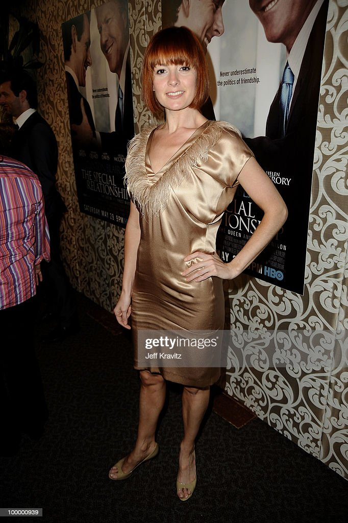 Actress Lorraine Stewart arrives to the HBO premiere of 'The Special Relationship' held at Directors Guild Of America on May 19, 2010 in Los Angeles, California.