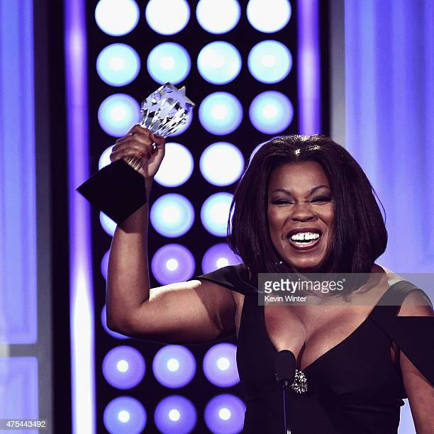 Actress Lorraine Toussaint accepts the Best Supporting Actress in a Drama Series award for Orange Is The New Black onstage during the 5th Annual...