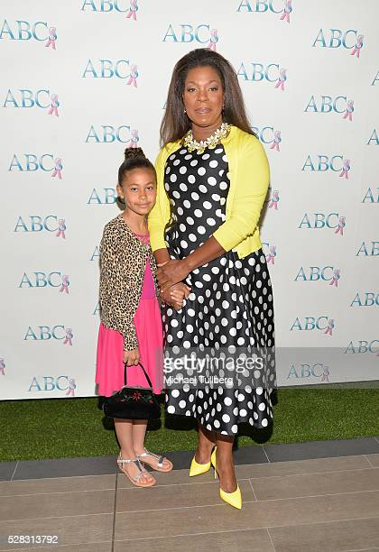 Actress Lorraine Toussaint and daughter Samara Toussaint attend the Associates For Breast and Prostate Cancer Studies' annual Mother's Day Luncheon...