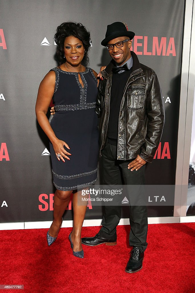 Actress Lorraine Toussaint (L) attends 'Selma' New York Premiere - Inside Arrivals at Ziegfeld Theater on December 14, 2014 in New York City.