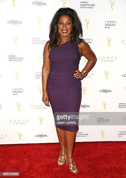 Actress Lorraine Toussaint attends the Television Academy's celebration for the 67th Emmy Award nominees for outstanding performances at Pacific...