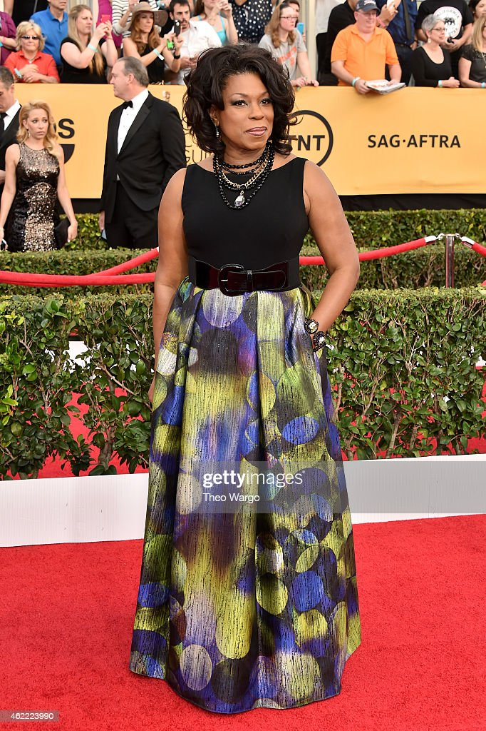 Actress Lorraine Toussaint attends TNT's 21st Annual Screen Actors Guild Awards at The Shrine Auditorium on January 25, 2015 in Los Angeles, California. 25184_018