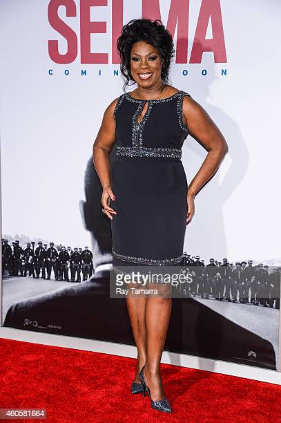 Actress Lorraine Toussaint enters the Selma New York Premiere at the Ziegfeld Theater on December 14 2014 in New York City