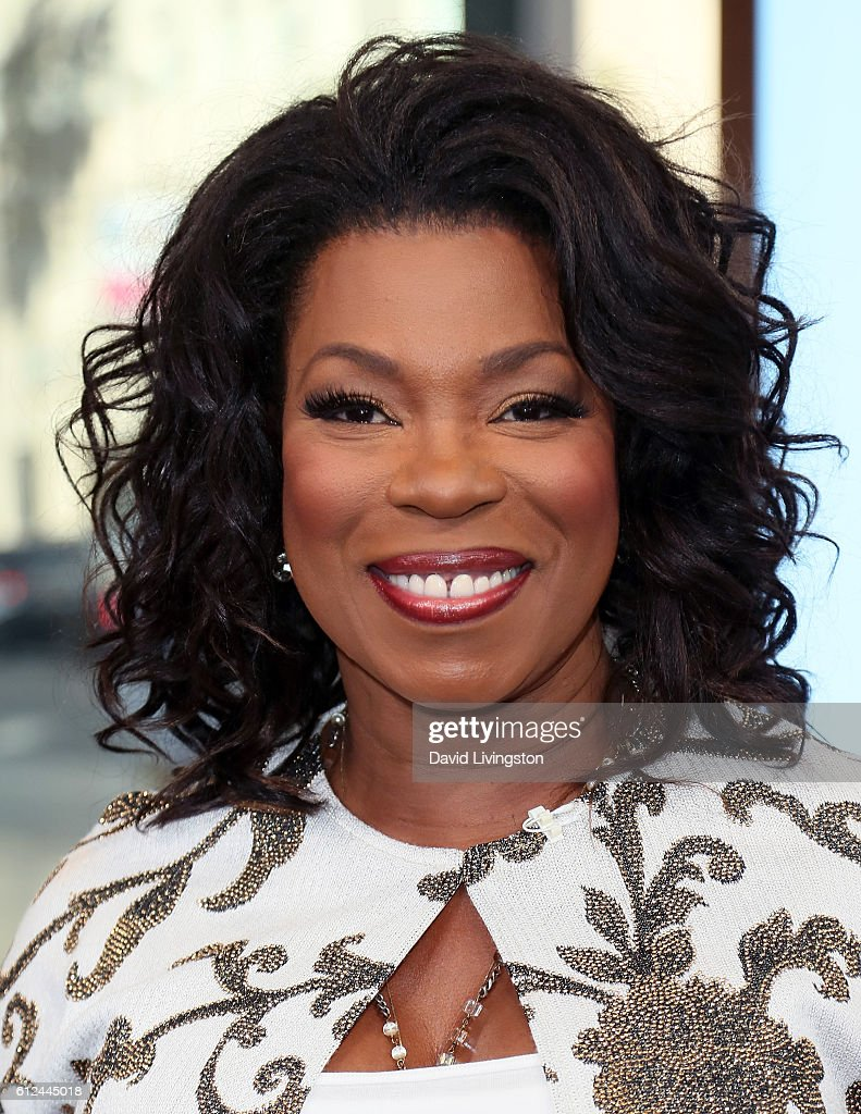 Lorraine Toussaint And Simone Missick Visit Hollywood Today Live : News Photo